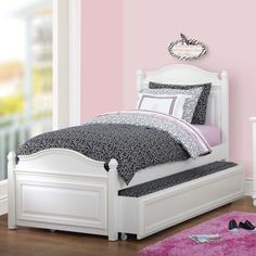 Costco: Brooke Twin Trundle Bed