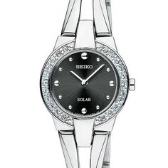 Seiko Women's SUP051 Tressia Dress Solar Watch $215.00