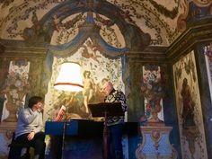 Arno Argos Raunig; sopranist, Sala Terrena, Mozarthaus, Vienna