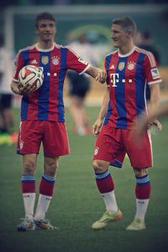 Müller & Schweinsteiger