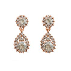 Sofia - Crystal (Rose gold) - LILY AND ROSE