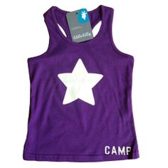 Little star tanks in purple Little Star, Little Boys, Tanks, Stuff To Do, Athletic Tank Tops, Purple, Clothes, Collection, Women