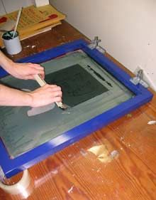 How to Silkscreen Posters and Shirts » No Media Kings