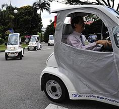 Toyota Group, National University of Singapore Testing Micro EVs