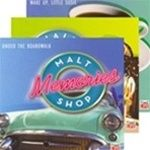 Time Life's Malt Shop Memories will have you singing...all the jukebox classics from the 50's are here on this 10 CD set.