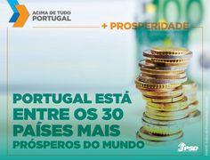 Portugal está em 27º. lugar do ranking que avalia o estado da Economia, Governação, Empreendedorismo e Oportunidades, Educação, Saúde, Segurança, Liberdade Pessoal e Capital Social de quase todos os países do mundo. #acimadetudoportugal