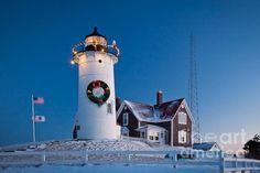 Nobska Light, Falmouth, Cape Cod, Massachusetts