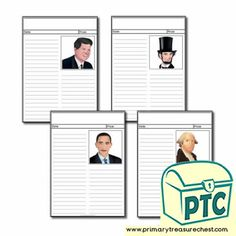 Presidents' Day Resources - Primary Treasure Chest Teaching Activities, Teaching Resources, Teaching Ideas, Ourselves Topic, Pre Kindergarten, Presidents Day, Role Play, Treasure Chest, Newspaper