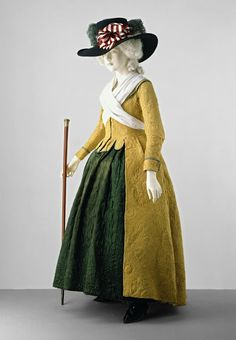 Quilting was a popular form of needlework in the 18th century. Both decorative and practical, it was used on clothing and furnishings such as bedcovers and...