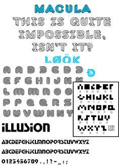 Fase 1: Concept 1: Illusie fonts