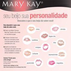 Seu beijo... sua personalidade...