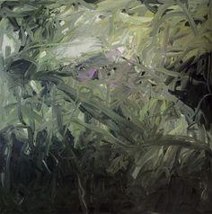 Richter,  Ohne Titel (grün)  Untitled (Green)  1971  200 cm x 200 cm  Oil on canvas  Catalogue Raisonné: 313