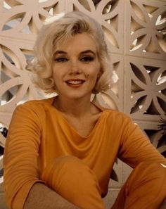 Last photo shoot of Marilyn Monroe