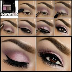<3Pinks and browns for brown eyes