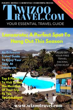 Lanzarote Is A Perfect Spot To Hangout This Season Holiday Packing Lists, Family Holiday Destinations, Packing List For Travel, Travel Destinations, Travel Tips, Europe Budget, Travel Europe Cheap, Spain Travel, Budget Travel