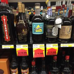 Cincinnati friends spotted our spirits at @the_party_source in Bellevue Kentucky! Our coffee liqueur Bramble black raspberry vodka and Tiki Rum are on shelves today.