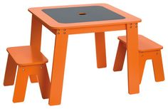 Chalk Table - contemporary - kids tables - giggle- need in white though