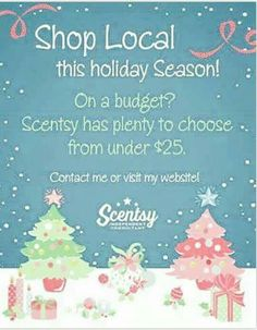 Order you Scentsy products today at https://breed.scentsy.us Follow me on Facebook at www.facebook.com/reed.brandi16/  You can also email me at brandireed2003@hotmail.com with any questions or for more information