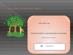 Youtube, el árbol del dinero - Miguel Ángel Almela by BlackHatSpain via slideshare