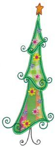 Embroidery | Free Machine Embroidery Designs | Bunnycup Embroidery | Whimsy Christmas Applique