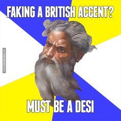 Faking a British Accent?... Must Be a Desi #dubai #onlyindubai #dubaiproblems #dxb #dubailife #uae #mydubai #sharjah #abudhabi #alain #dubaiexpat #dubaimemes #dubaimall #myuae