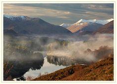 Autumn mist in Glen Affric - Scottish landscapes   By: Brian Clark