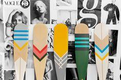 Artisan canoe paddle