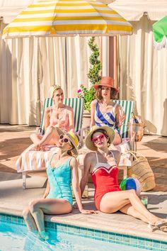 hotel spa Gray Malin at The Beverly Hills H - hotel Beverly Hills Hotel, The Beverly, H Hotel, Slim Aarons, Vintage Swim, Retro Summer, Beach Pool, Palm Beach, Summer Feeling