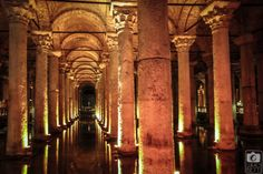 Yerebatan Sarayi_Basilica Ciszterna_Isztambul_04