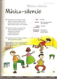 Juegos de música y expresión corporal Preschool Math Games, Music Activities, Music School, I School, Music Education, Physical Education, Music Theory Games, Zumba Kids, School Murals