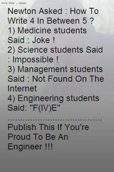 """Lol, it's kinda funny how often you see this """"engineers will find a way"""" ideology with lots of the engg jokes. Engineering Quotes, Civil Engineering, Aerospace Engineering, Mechanical Engineering, Environmental Engineering, Chemical Engineering, Mechanical Design, What Is Education, Aviation Humor"""