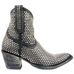 MEXICANA Boots   L1042 AGUJAS NAP  Leather - Black