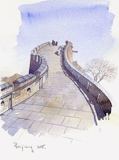 Beijing great wall05 | Flickr - Photo Sharing!