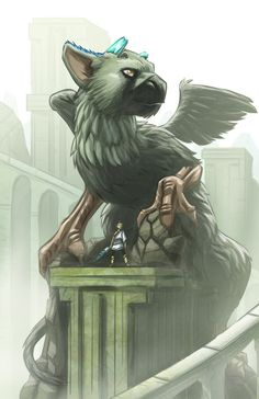 The Last Guardian Art Contest Entry 2016 by EryckWebbGraphics.deviantart.com on @DeviantArt