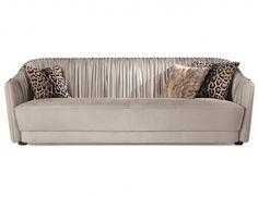 Nella Vetrina Sharpei Roberto Cavalli Home Modern Luxury Italian Sofa in Leather