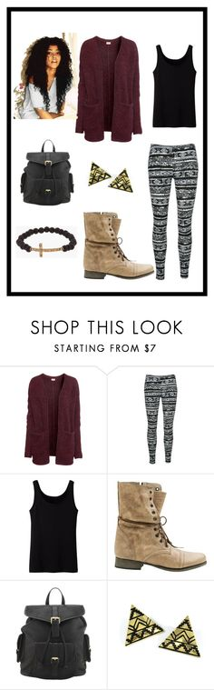 """""""September 21"""" by ashley-faber ❤ liked on Polyvore featuring H&M, Uniqlo, Steve Madden, Somerset by Alice Temperley and Luis Morais"""