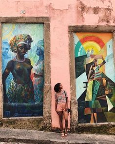 Salvador has incredible street art!