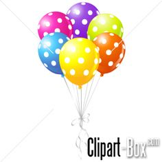 CLIPART PARTY BALLOONS