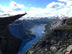 Taking a well deserved rest at the end of Trolltunga!  #Trolltunga #amazingplaces #norway #hike #wanderlust #backpacking #sologirl #girl #travel #femaletraveler #travelling #blog #blogs #high #adrenaline #photography #fjord #landscape #beautiful