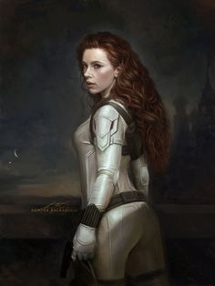 """""""We have unfinished business."""" Scarlett Johansson is Natasha Romanoff, the BLACK WIDOW. In theaters May This digital painting is inspired by Winterhalter's Empress Sissi. Black Widow Scarlett, Black Widow Movie, Black Widow Natasha, Black Widow Marvel, Marvel Universe, Marvel E Dc, Marvel Heroes, Marvel Women, Marvel Girls"""