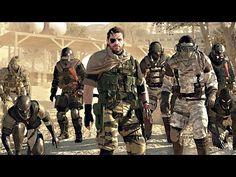 Metal Gear Online Gameplay Trailer 60 FPS HD - Metal Gear Solid 5 Phantom Pain Multiplayer - YouTube