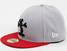 Mickey Mouse Pop Up 59Fifty Fitted Baseball Cap by DISNEY x NEW ERA