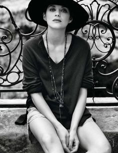 #marion cotillard #autumn #style icon // {all images via image amplified} // elle france // silver lining