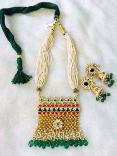 Indian Wedding Jewelry, Bridal Jewelry, Gemstone Jewelry, Gold Jewelry, Beaded Jewelry, Jewelery, Rajputi Jewellery, Indian Accessories, India Jewelry