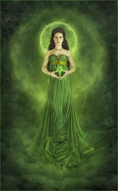 """Absinthe_Fairy_by_inSOLense """"I am the green Fairy! I have nothing in common with the fairies of the past."""" – Marie Corelli Wormwood: A Drama of Paris Green Fairy Absinthe, Josephine Wall, Fairy Art, Princesas Disney, Illustrations, Shades Of Green, Faeries, My Favorite Color, Green Colors"""