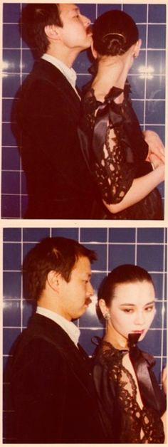 Tina Chow and Michael Chow by Antonio Lopez .