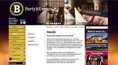 WOKKE Vormgeving & Communicatie | Bob's Party & Events #website#webdesign #design #branding