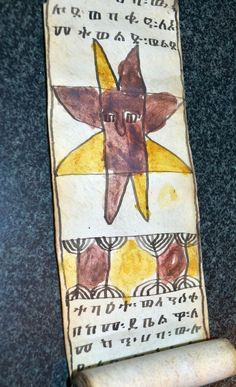 Very sturdy and in excellent although slight worn condition from past use by previous owners.This Scroll would be an excellent addition to any Ethiopian Christian collection. Ethiopia, Childrens Books, Religion, Africa, Healing, Christian, Culture, Antiques, Art