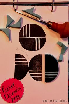 Day 7- just another quick and easy half circle stamp to make some nice modern backgrounds and patterns.... #CarveDecember;  #CarveDecember2019;   check out: Balzer Designs: #CarveDecember 2019   #handcarvedrubberstamps; #handgeschnitztestempel; #diyrubberstamps;#linocut;#linolschnitt;#selbstgemachtestempel;#stempelselbermachen;#diystempel;#diystamps;#stempelselberschnitzen; #stampcarving; #stempelschnitzen; #printmaking;