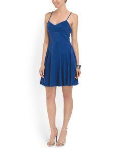 Novelty Scuba Skater Dress - Dresses - T.J.Maxx